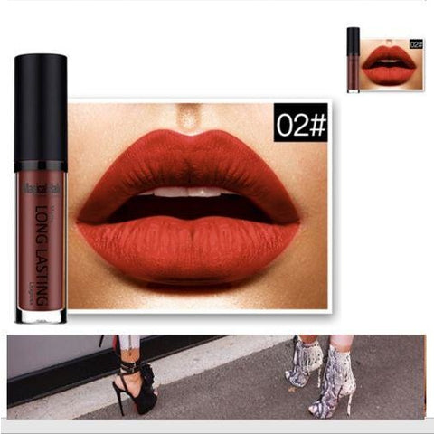 Lip Gloss Waterproof Long Lasting Party Beauty Makeup Matte Lipstick