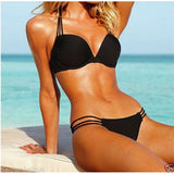 HOT Push-up Padded Bra Bandage Bikini Set Swimsuit