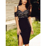 Lace Upper Straps Party Dress