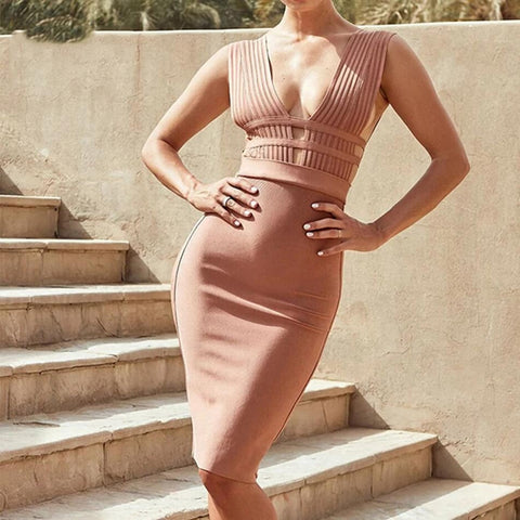 In Love With This Stylish Bandage Dress