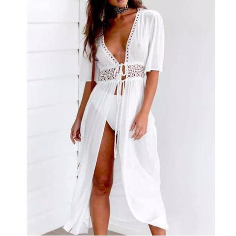 Women's Chiffon Boho Chiffon Swimsuit Cover Up