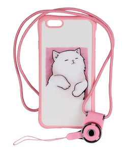 iPhone 6/6s case Cute Rose Cat