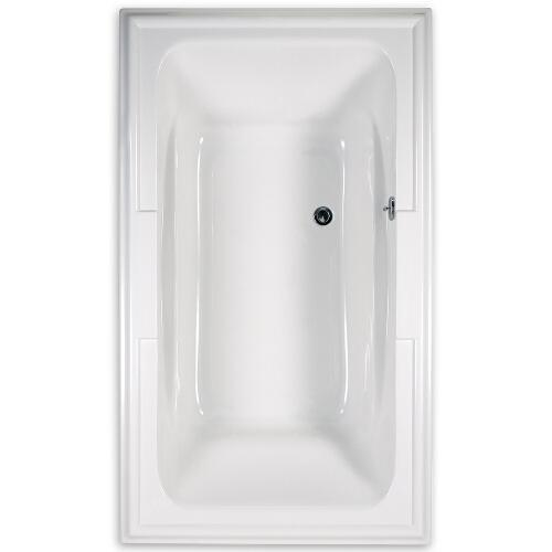 "American Standard Air Tub White American Standard ""Town Square"" 72"" x 42"" Air Tub"