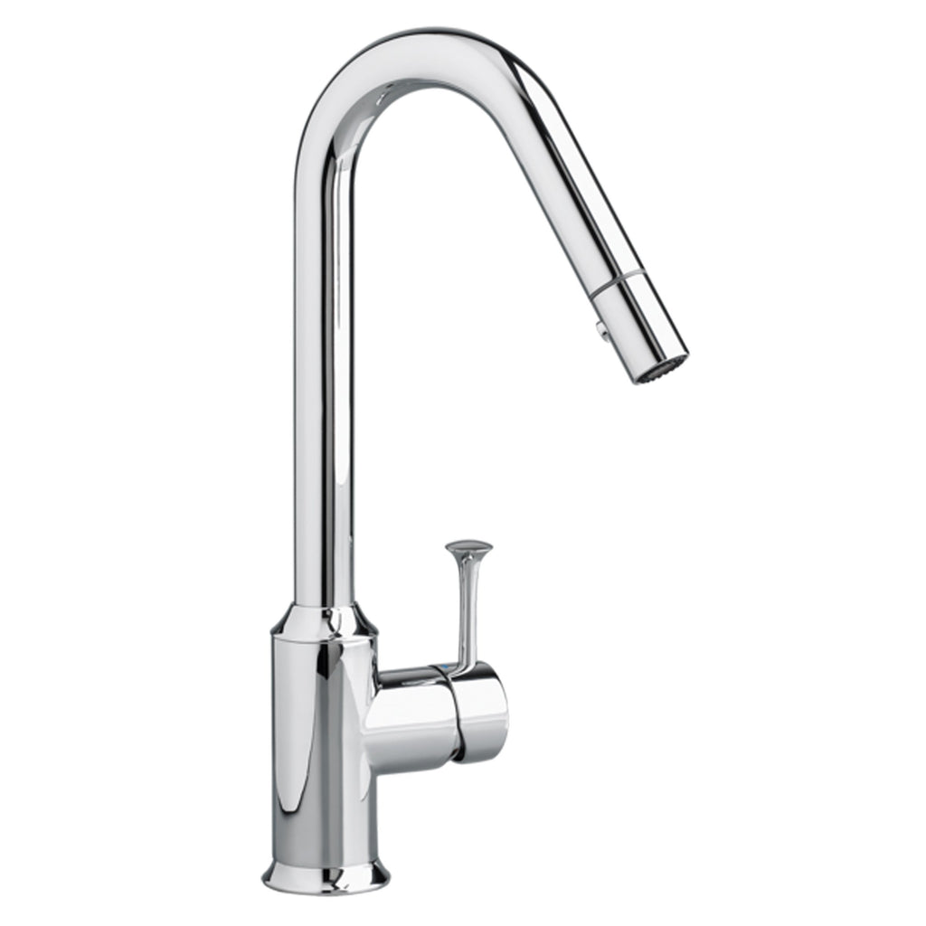 "American Standard bar/prep faucet Polished Chrome American Standard  ""Pekoe"" Chrome Single Hole Bar Faucet"