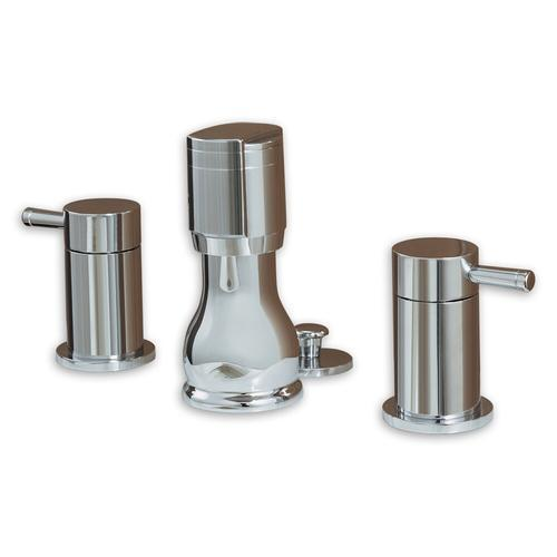 "American Standard bathroom faucet Polished Chrome American Standard ""One"" Vertical Spray Bidet Faucet"