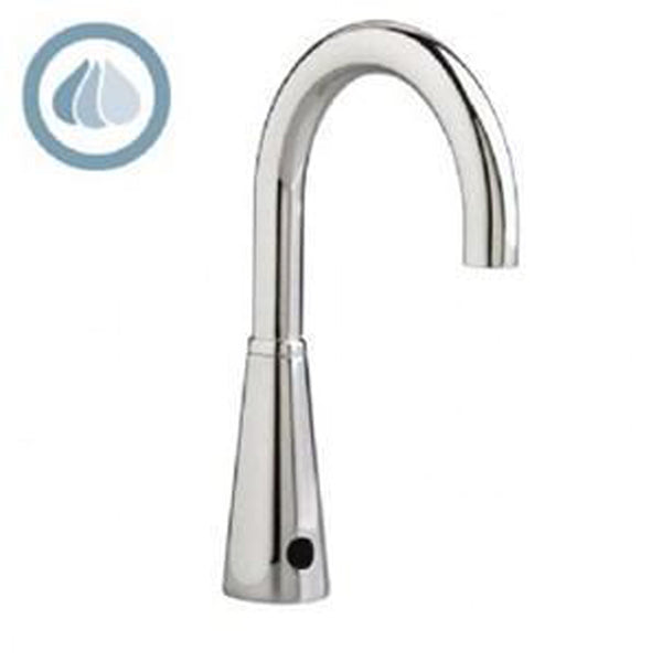 American Standard Bathroom Faucet Polished Chrome American Standard Selectronic Chrome Bathroom Faucet Water Saving 0.35 GPM