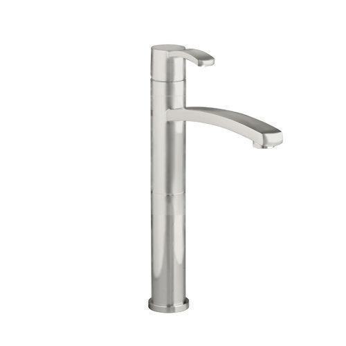 "American Standard bathroom sink faucet Brushed Nickel American Standard ""Berwick"" Vessel Filler Bathroom Sink Faucet"