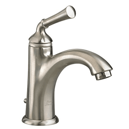"American Standard bathroom sink faucet Brushed Nickel American Standard ""Portsmouth"" Single Hole Bathroom Sink Faucet"