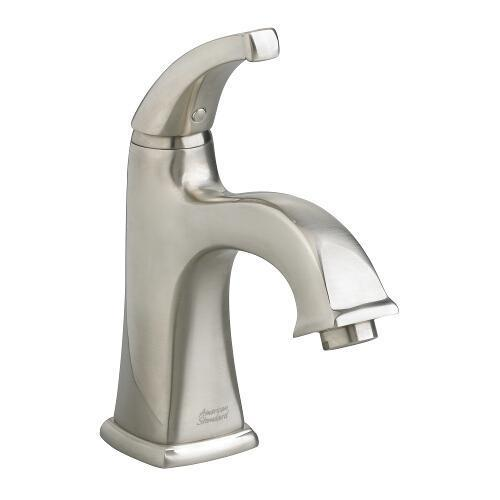 "American Standard bathroom sink faucet Brushed Nickel American Standard ""Town Square"" Single Hole Bathroom Sink Faucet"