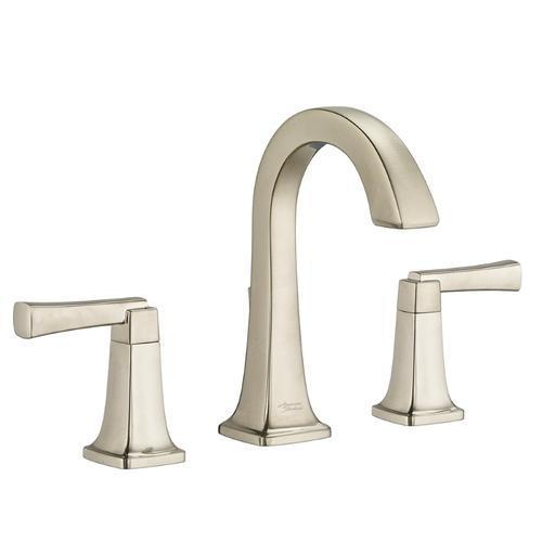 "American Standard bathroom sink faucet Brushed Nickel American Standard ""Townsend"" 8'' Widespread Bathroom Sink Faucet"