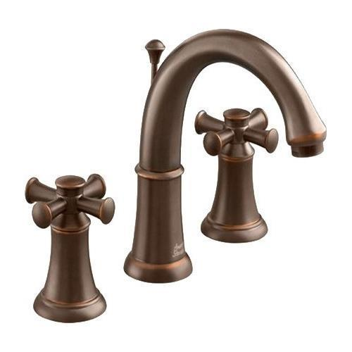 "American Standard bathroom sink faucet Oil Rubbed Bronze American Standard ""Portsmouth"" 8'' Widespread Bathroom Sink Faucet"