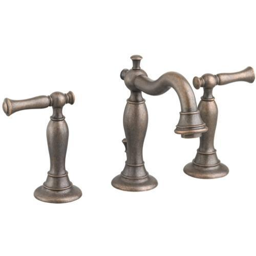 "American Standard bathroom sink faucet Oil Rubbed Bronze American Standard ""Quentin"" 8'' Widespread Bathroom Sink Faucet"