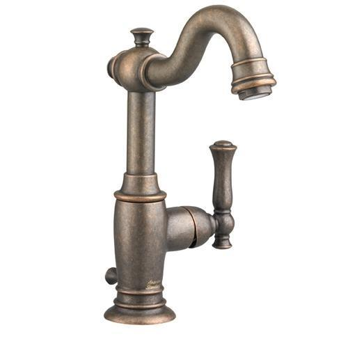 "American Standard bathroom sink faucet Oil Rubbed Bronze American Standard  ""Quentin"" Single Hole Bathroom Sink Faucet"