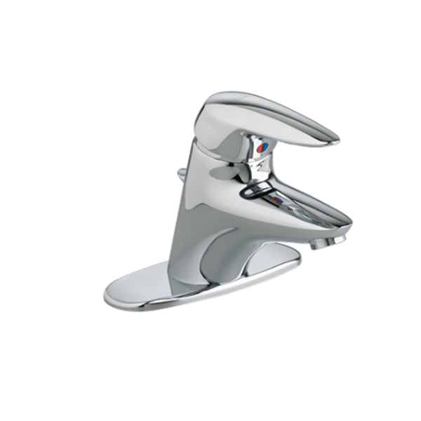 "American Standard bathroom sink faucet Polished Chrome American Standard ""Ceramix"" Chrome Single Hole Bathroom Sink Faucet"