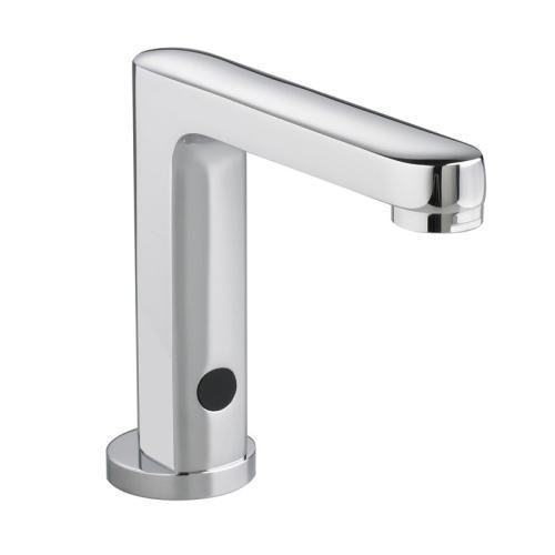 "American Standard Bathroom Sink Faucet Polished Chrome American Standard ""Moments"" Self Closing / Metering Commercial Bathroom Sink Faucet"