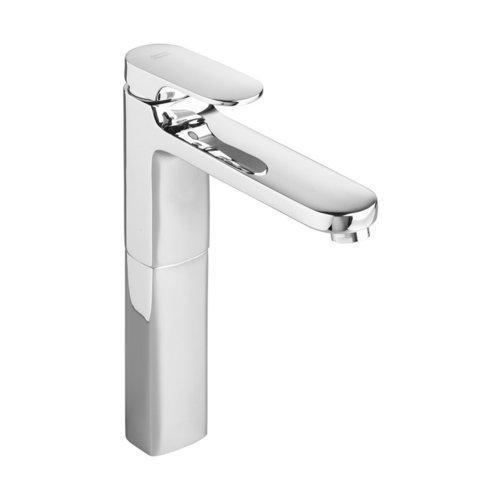 "American Standard Bathroom Sink Faucet Polished Chrome American Standard  ""Moments"" Vessel Filler Bathroom Sink Faucet"
