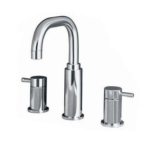 "American Standard bathroom sink faucet Polished Chrome American Standard ""Serin"" 8'' Widespread Bathroom Sink Faucet"