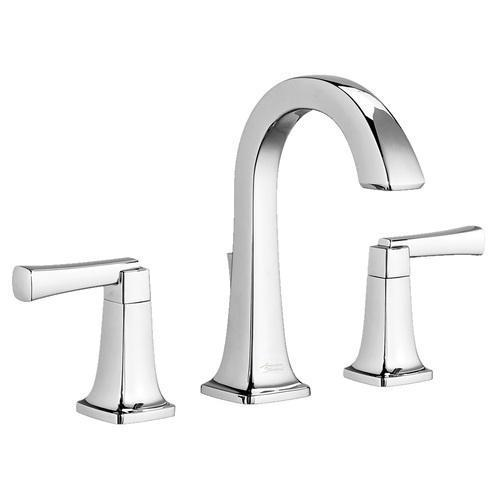 "American Standard bathroom sink faucet Polished Chrome American Standard ""Townsend"" 8'' Widespread Bathroom Sink Faucet"
