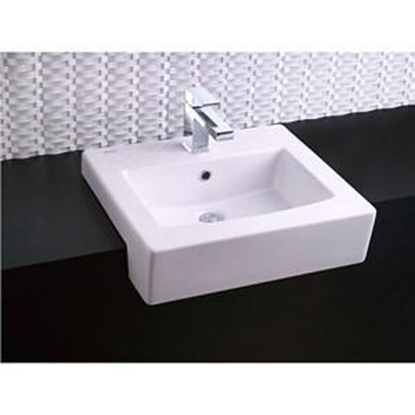 "American Standard bathroom sink White American Standard ""Drop In"" Fireclay Bathroom Sink"