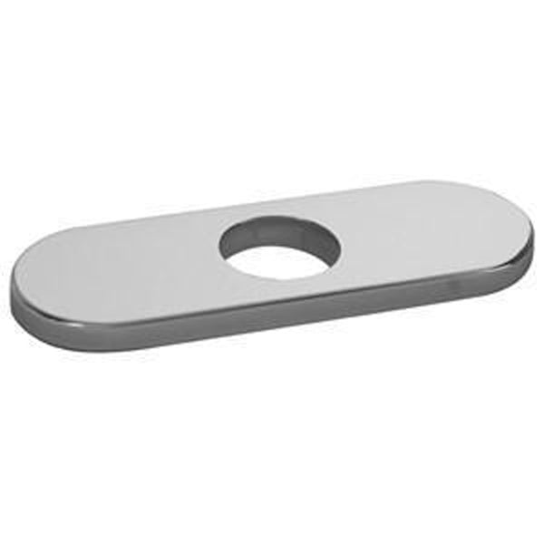 "American Standard Deck Plate Part Polished Chrome American Standard  ""Serin"" Escutcheon Plate Only Deck Plate Part"