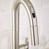 "American Standard kitchen faucet American Standard ""Beale"" Hands Free Selectronic Pull-Down Kitchen Faucet (ELECTRONIC)"