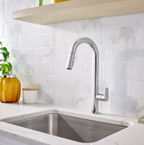 "American Standard kitchen faucet American Standard ""Beale"" Pull-Down Kitchen Faucet"