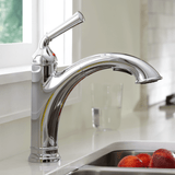 "American Standard kitchen faucet American Standard ""Portsmouth"" Stainless Pull-Out Spray Kitchen Faucet"