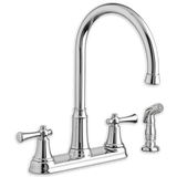 "American Standard kitchen faucet American Standard ""Portsmouth"" Two Handle Kitchen Faucet"