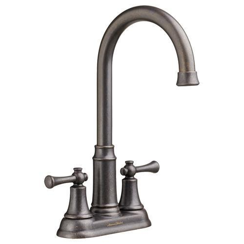 "American Standard kitchen faucet Oil Rubbed Bronze American Standard ""Portsmouth"" 4'' Centerset Bar Faucet"