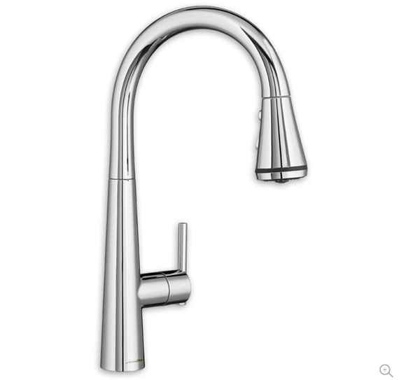 "American Standard kitchen faucet Polished Chrome American Standard ""Edgewater"" Selectflo Pull-Down Kitchen Faucet"
