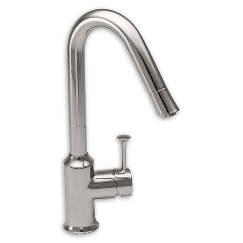 "American Standard kitchen faucet Polished Chrome American Standard ""Pekoe"" Single Handle Kitchen Faucet"