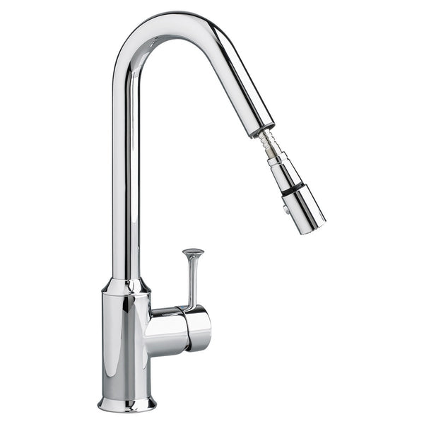 "American Standard kitchen faucet Polished Chrome American Standard ""Pekoe"" Single Hole Bar Faucet"
