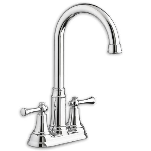 "American Standard kitchen faucet Polished Chrome American Standard ""Portsmouth"" 4'' Centerset Bar Faucet"