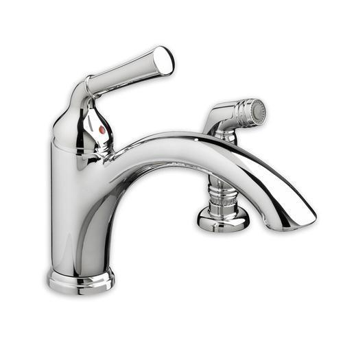 "American Standard kitchen faucet Polished Chrome American Standard ""Portsmouth"" Single Handle Kitchen Faucet"