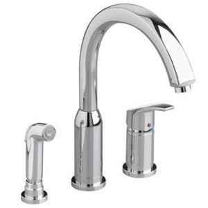 American Standard Kitchen Faucet Polished Chrome American Standard Widespread Kitchen Faucet