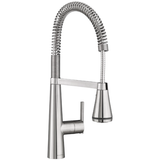 "American Standard kitchen faucet Stainless Steel American Standard ""Edgewater"" Selectflo Semi Pro Kitchen Faucet"
