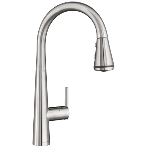 "American Standard kitchen faucet Stainless Steel American Standard ""Edgewater"" Stainless Steel Selectflo Pull-Down Kitchen Faucet"