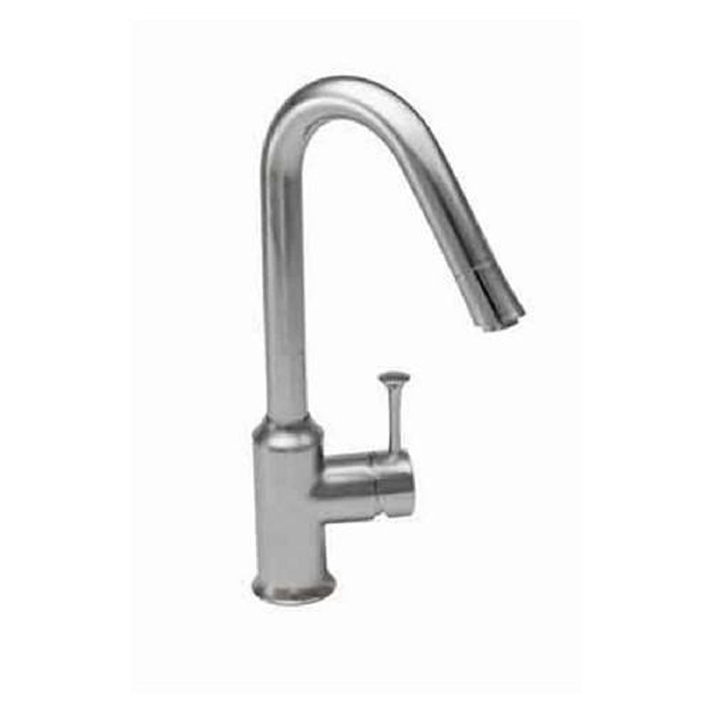 "American Standard kitchen faucet Stainless Steel American Standard ""Pekoe"" Single Handle Kitchen Faucet"