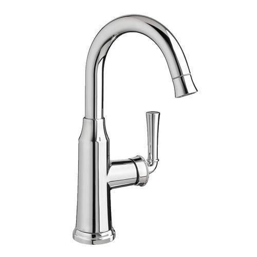 "American Standard kitchen faucet Stainless Steel American Standard ""Portsmouth"" Single Hole Bar Faucet"