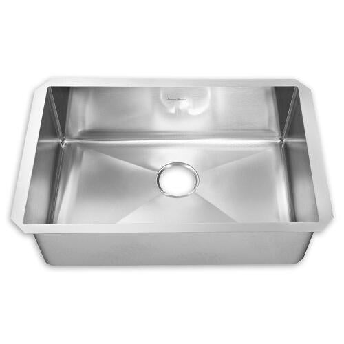"American Standard Kitchen Sink Brushed Satin American Standard ""Prevoir"" Undermount Single Bowl Kitchen Sink"