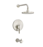 "American Standard shower faucet Brushed Nickel American Standard ""Berwick"" Shower Faucet Trim Kit"