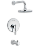 "American Standard shower faucet Polished Chrome American Standard ""Berwick"" Shower Faucet Trim Kit"