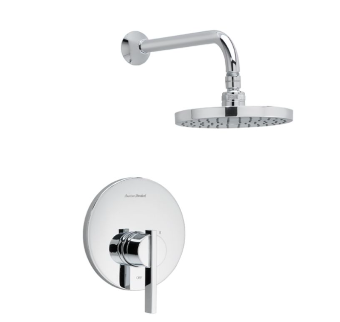 "American Standard shower faucet Polished Chrome American Standard ""Berwick"" Shower Trim Faucet"