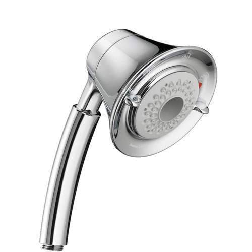 "American Standard Shower Head Polished Chrome American Standard ""FloWise"" Shower Head"