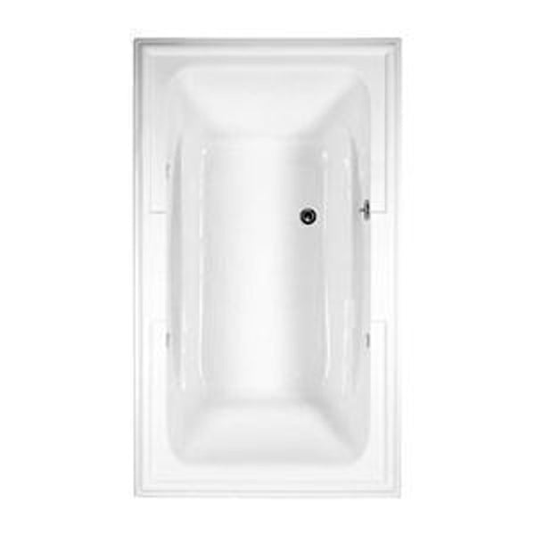 "American Standard Soaking Tub Arctic White American Standard ""Town Square"" 72"" x 42"" Soaking Tub Arc"
