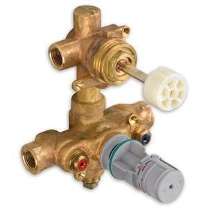 American Standard Thermostatic Valve Rough Brass American Standard Thermostatic Valve