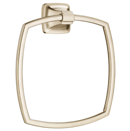 "American Standard Towel Ring Brushed Nickel American Standard ""Townsend"" Brushed Nickel Towel Ring"