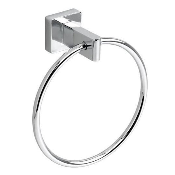 "American Standard Towel Ring Polished Chrome American Standard ""CS"" Towel Ring"