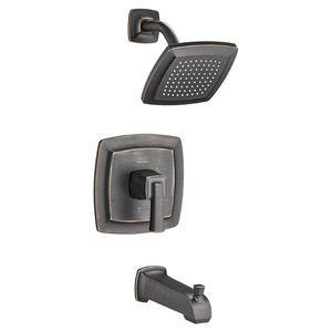 "American Standard Tub & Shower Faucet Legacy Bronze American Standard ""Townsend"" Tub & Shower Faucet Trim Kit"