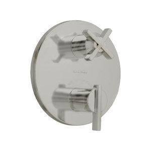 "American Standard Volume Control Trim Brushed Nickel American Standard ""Berwick"" Thermostatic / Volume Control Trim"